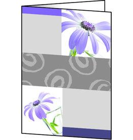 sigel Designkarte, I/L/K, Klappkarte, Glanzkart., 220g/m², A6, Emotion