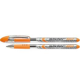 Schneider Kuli Slider Basic, mit Kappe, XB, 0,7 mm, Schreibf.: orange