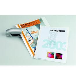 DURABLE Buchbindemappe DURABIND®, transp.Vorderd., A4, für: 30Bl., we