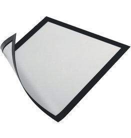 DURABLE Sichtrahmen, magnetisch, PVC-Hartfolie, A4, schwarz