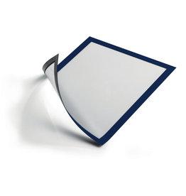 DURABLE Sichtrahmen, magnetisch, PVC-Hartfolie, A4, blau