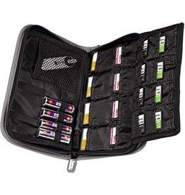 hama Speicherkartentasche Multi Card Maxi, für: 20 Speicherkarten, sw/gr