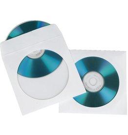 hama CD-Hülle, Papier, für: 1 CD/DVD, weiß