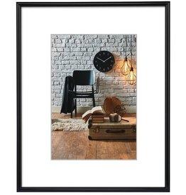 hama Bilderrahmen Sevilla, PS-Glas, 50x70cm, Kst.rahmen, schwarz, B: 13mm