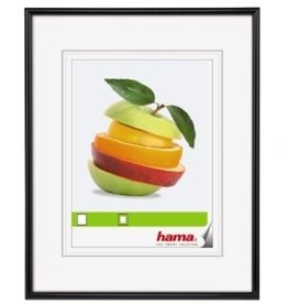 hama Bilderrahmen Sevilla, mit Normalglas, 40 x 60 cm, Kst.rahmen, schwarz