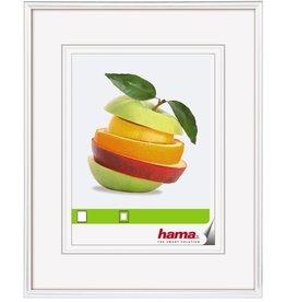 hama Bilderrahmen Sevilla, Normalglas, 30x45cm, Kst.rahmen, weiß