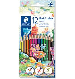 STAEDTLER Farbstift, Noris® colour, Minen-Ø: 3 mm, Schreibf.: sortiert