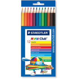 STAEDTLER Farbstift Noris Club®, Minen-Ø: 3 mm, Schreibf.: 12er sortiert