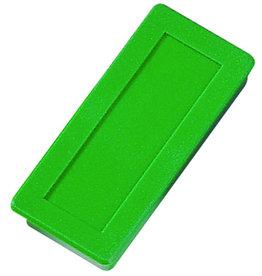 DAHLE Magnet, rechteckig, 23 x 50 mm, Haftkraft: 1.000 g, grün