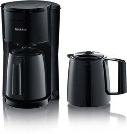 SEVERIN Kaffeemaschine, KA 9252, 1 l, für: 8 Tassen, schwarz