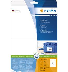 HERMA Etikett, I/L/K, sk, 210 x 148 mm, weiß