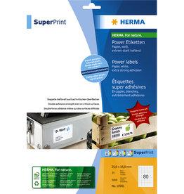 HERMA Etikett, I/L/K, sk, permanent, 35,6 x 16,9 mm, weiß