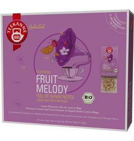 TEEKANNE Früchtetee Fruit Melody, Bio, Beutel aromaversiegelt, 20 x 5,5 g