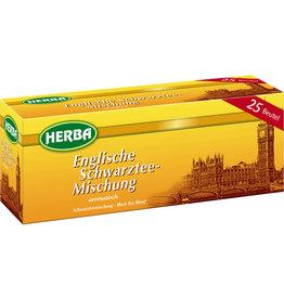 HERBA Schwarztee Englische Schwarztee-Mischung, Beutel, 25 x 1,5 g
