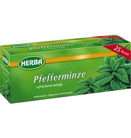 HERBA Kräutertee Pfefferminze, Beutel, 25 x 1,5 g