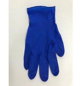 Fighting Line Handschuh, Nitril, puderfrei, Größe: S, blau