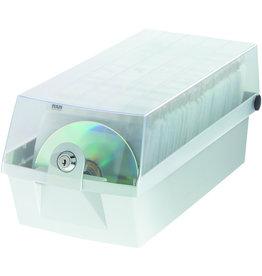 HAN CD-Box MÄX 60, 168x365x150mm, für: 60CDs, grau