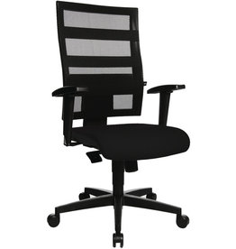 TOPSTAR Bürodrehstuhl Net X-Pander, ohne Armlehnen, schwarz