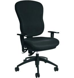 TOPSTAR Bürodrehstuhl Wellpoint 30, ohne Armlehnen, schwarz