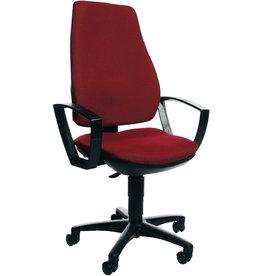 TOPSTAR Bürodrehstuhl Power ohne Armlehnen, rot