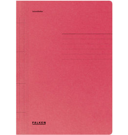 FALKEN Schnellhefter, Manilakarton (RC), 1/1 Vorderdeckel, A4, rot