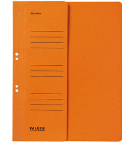 FALKEN Ösenhefter, 1/2 Vorderdeckel, kfm. Heft., A4, orange