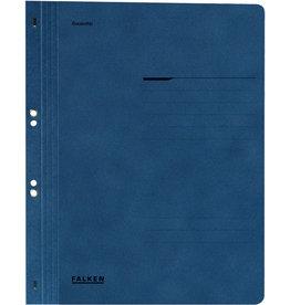 FALKEN Ösenhefter, 1/1 Vorderdeckel, kfm. Heft./Amtsheft., A4, blau