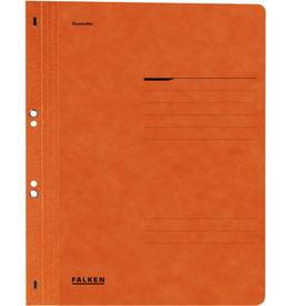 FALKEN Ösenhefter, 1/1 Vorderdeckel, kfm. Heft./Amtsheft., A4, orange