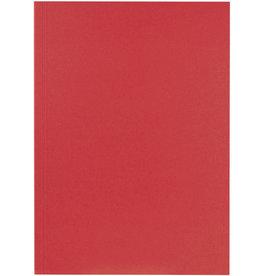 FALKEN Aktendeckel, Manilakarton (RC), 250 g/m², A4, rot