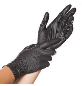 HYGONORM Handschuh, Einweg, Nitril, puderfrei, Größe: M, schwarz