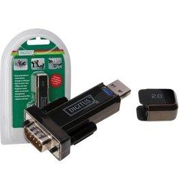 DIGITUS Adapter, USB A/RS232 Sub D9 - Stecker/Stecker