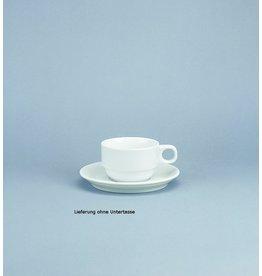 Schönwald Kaffeetasse, Form 898, Porzellan, mit Henkel, rund, 180 ml, weiß
