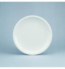 Schönwald Teller, Form 598, Porzellan, flach, Coup, rund, Ø: 24,1 cm, weiß