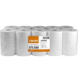 racon Papierhandtuch comfort, 2lagig, Rolle, 22 x 36 cm, naturweiß