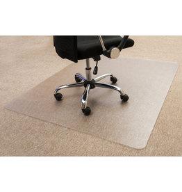 STAPLES Bodenschutzmatte, Teppich, PC, 90 x 120 cm, farblos, transparent