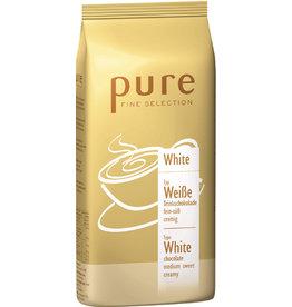 pure FINE SELECTION Schokogetränk White, Weiße Trinkschokolade, Pulver, Beutel