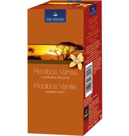 SIR HENRY Rooibostee Rooibos Vanille, Beutel aromaversiegelt, 25 x 2 g