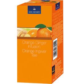 SIR HENRY Früchtetee Orange Ingwer, Beutel aromaversiegelt, 25 x 2,25 g