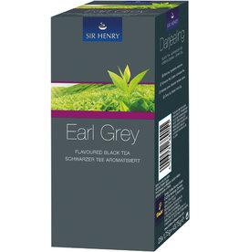 SIR HENRY Schwarztee Earl Grey, Beutel aromaversiegelt, 25 x 1,75 g