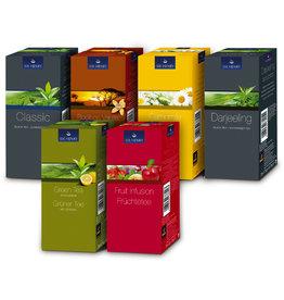 SIR HENRY Teesortiment, Mischkollo 6 Sorten, Beutel, 6 x 25 Beutel