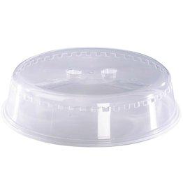 xavax Mikrowellenhaube Basic, Kunststoff, rund, 26 x 6,5 cm, transparent