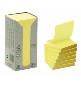 Post-it Haftnotiz Z-Notes RC, 76 x 76 mm, gelb, 100 Blatt
