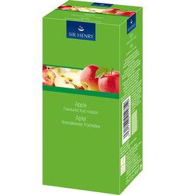 SIR HENRY Früchtetee Apfel, Beutel aromaversiegelt, 25 x 2,5 g