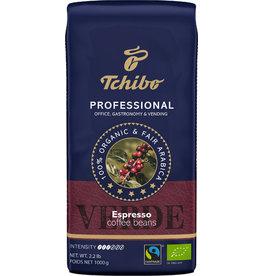 Tchibo Espresso PROFESSIONAL VERDE, Espresso, koffeinhaltig, ganze Bohne