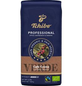 Tchibo Kaffee PROFESSIONAL VERDE, Café Crème, koffeinhaltig, ganze Bohne