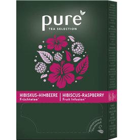 pure TEA SELECTION Früchtetee, Himbeere/Hibiskus, Beutel, 25 x 3 g