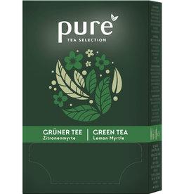 pure TEA SELECTION Grüner Tee, Zitronenmyrte, Beutel, 25 x 2 g