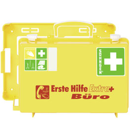 SÖHNGEN Erste-Hilfe-Koffer Extra+ BÜRO, gefüllt, Inhalt: DIN 13157