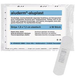 aluderm Pflaster aluplast, elastisch, 1,9 x 7,2 cm, weiß