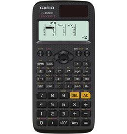 Casio Taschenrechner, fx-85DE X, Solar-/Batteriebetrieb, 10+2stellig